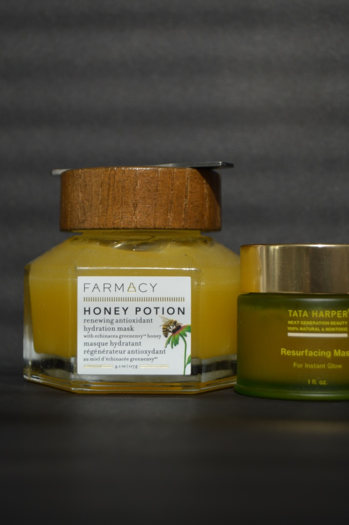 quality skincare products farmacy honey mask tata harper resurfacing mask